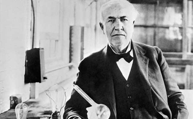 【心を救う偉人の言葉】トーマス・エジソン